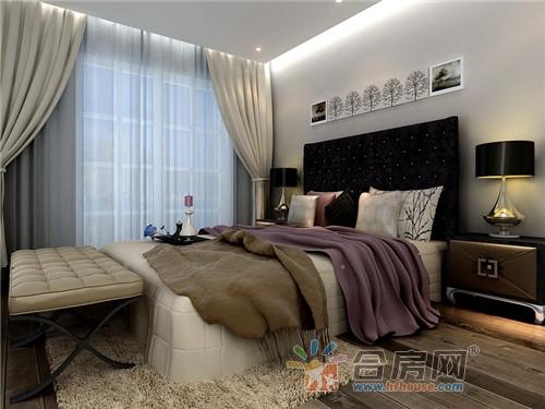 104平米温馨舒适现代简约风格装修效果图
