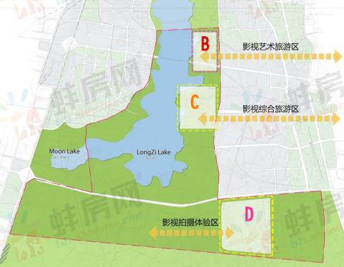 蚌埠龙子湖东将建影视旅游区 一期占地2000亩