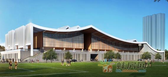 蚌埠体育场升级改造 即将建成的游泳跳水馆亮点颇多