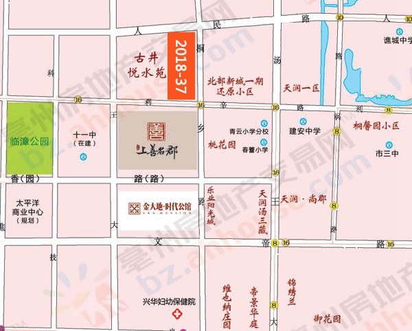 亳州老城区这宗30亩商业用地再次出让 能否成交?