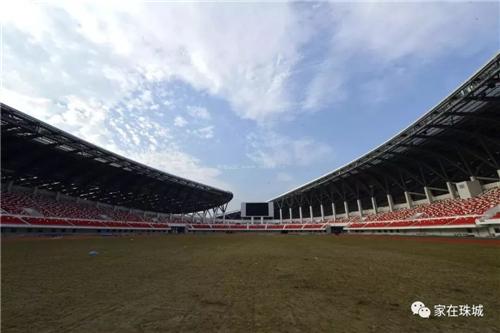 蚌埠体育中心内部实景
