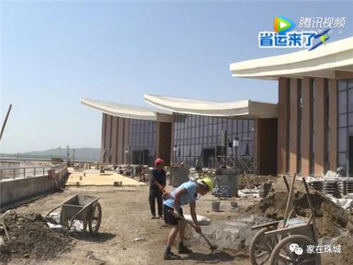 蚌埠龙子湖体育公园实景