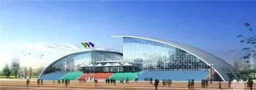 龙子湖区全民健身中心效果图