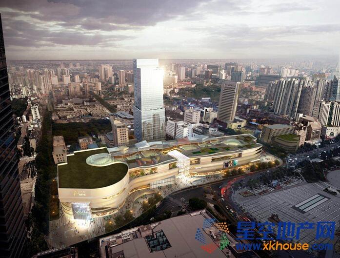 苏宁置业再下一城,南昌八一广场智慧商业地标开工