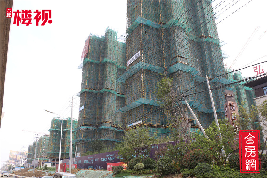 【弘阳时光里】6月工程进度 洋房建至10层