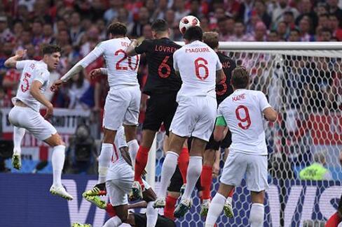 克罗地亚2:1逆转英格兰挺进世界杯决赛