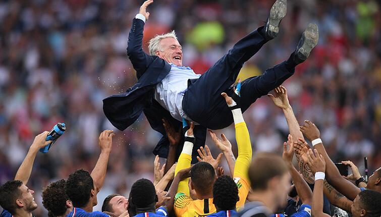 2018世界杯:法国4:2克罗地亚 时隔20年再夺大力神