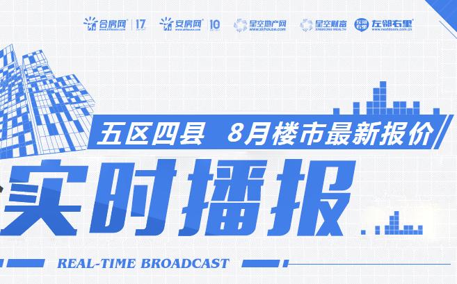 2018年9月芜湖热门楼盘最新房价播报