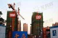 苏宁城市之光:8月工程进度 12#楼建至16层