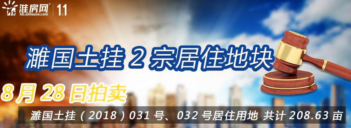淮房网直播|濉溪政务新区两宗208.63亩连襟地块正在拍卖(附探地报告)