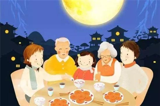 红红的虾蟹,小巧玲珑的月饼, 也是中秋佳节一家团圆的时候~ 家来这里