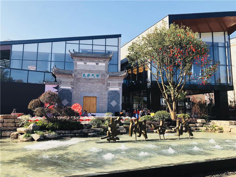 铜官山区:嘉华美庭12月工程进度
