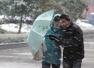 未来一周冷空气频繁 安徽省大部分地区有雨雪天气