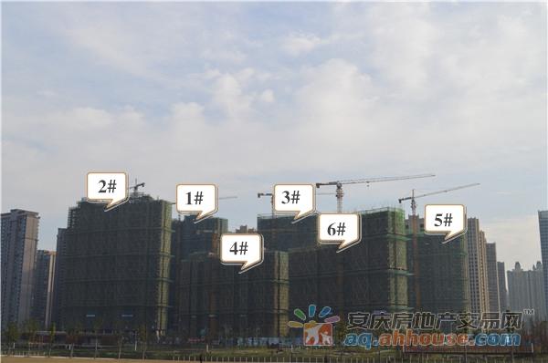 B区1#、2#、3#、4#、5#、6#主体建设中