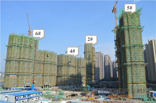 A区2#、4#、5#、6#主体建设中