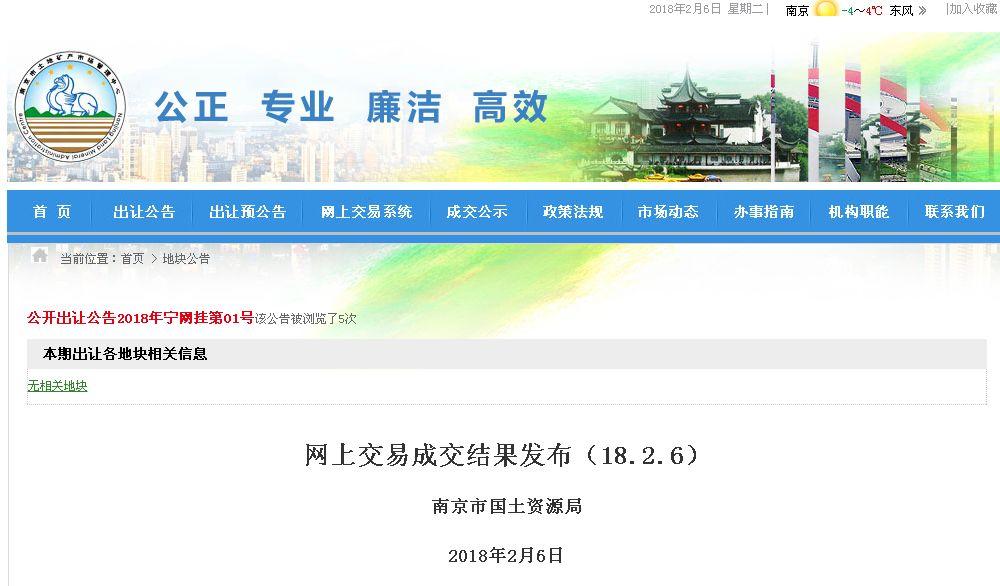 南京公开拍卖了5块70年产权的租赁型住宅用地,起拍楼面地价仅2500元/㎡起,最高的也不到2900元/㎡,全部底价成交。