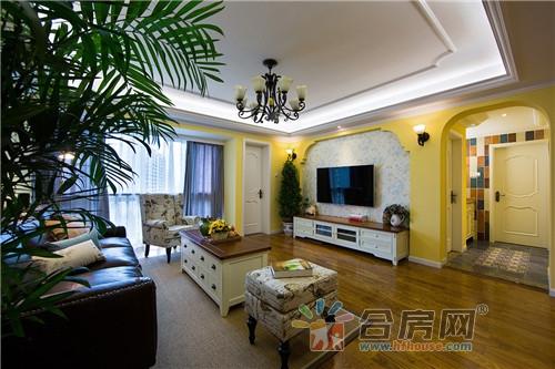 120平米公寓美式风格装修效果图2018图片大全图片