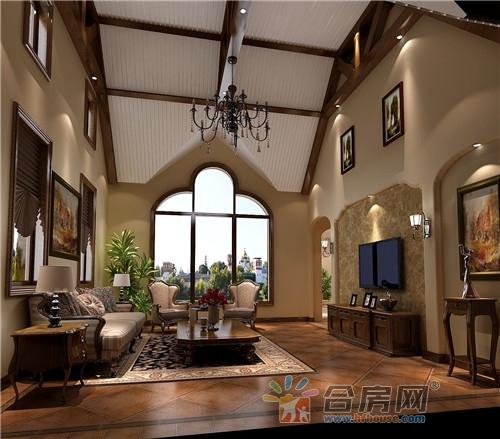 300平米五室四厅托斯卡纳风格装修效果图2018图片大全图片