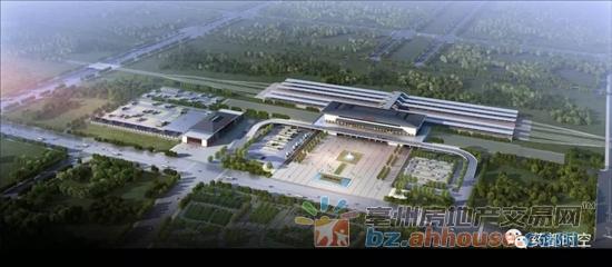 亳州铁路以东区域要起飞:基础设施建设速度加