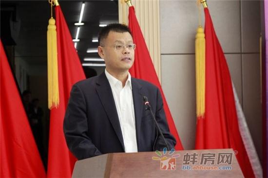 中国航天建设总经理李治国发表讲话