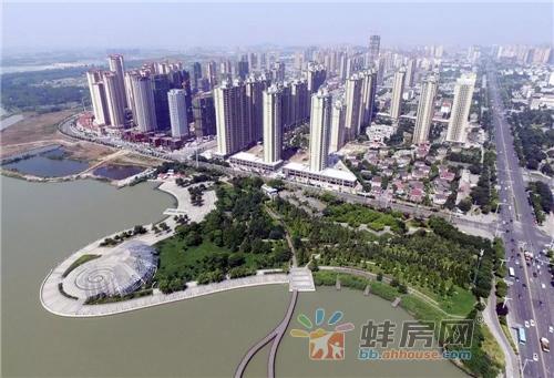 蚌埠滨湖新区俯拍