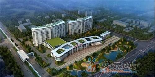 蚌埠市第二人民医院新院区效果图