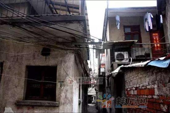 资料图:蚌埠蒋岗巷
