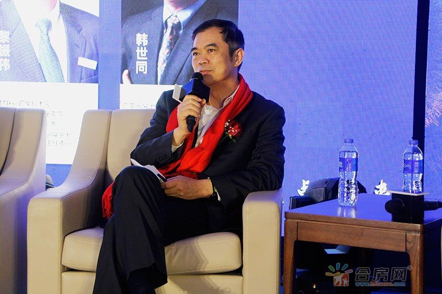 深圳世联行首席技术官黎振伟先生发言