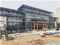 拓基广场2月进度:售楼部在建中 3月中旬开放